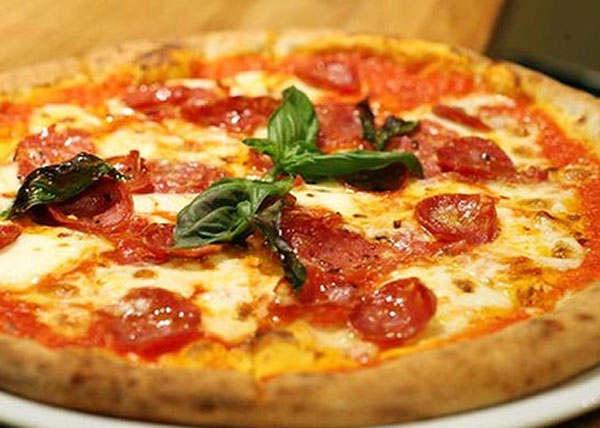 Diavote Pizza